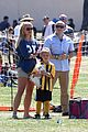 britney spears nails soccer sunday 09