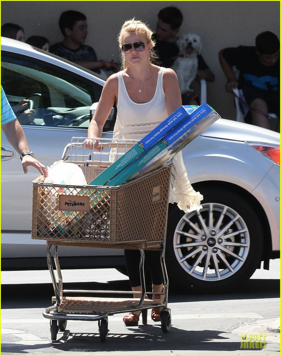 britney spears petsmart pet shopping 05