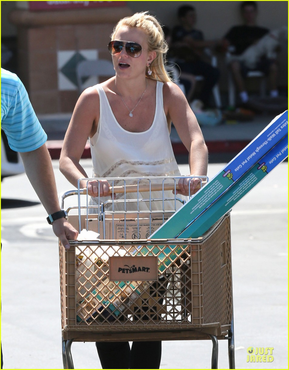 britney spears petsmart pet shopping 17
