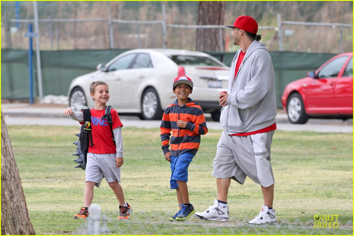 britney spears kevin federline boys sunday soccer game 162849861