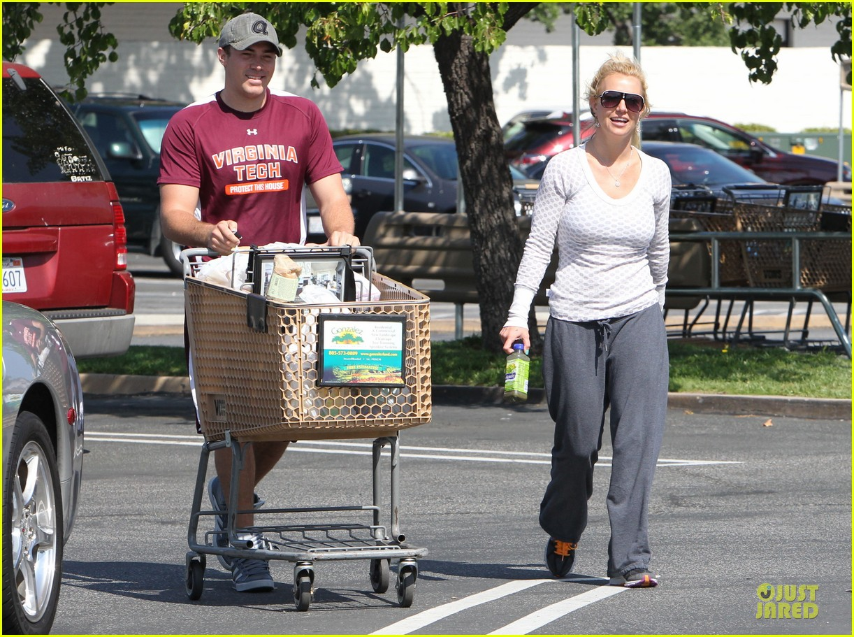 britney spears vons grocery shopping 092855919