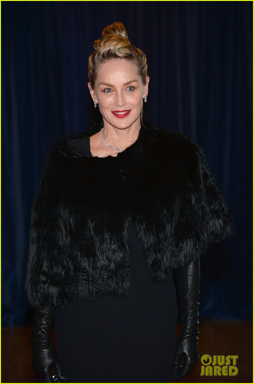 sharon stone white house correspondents dinner 2013 102859678