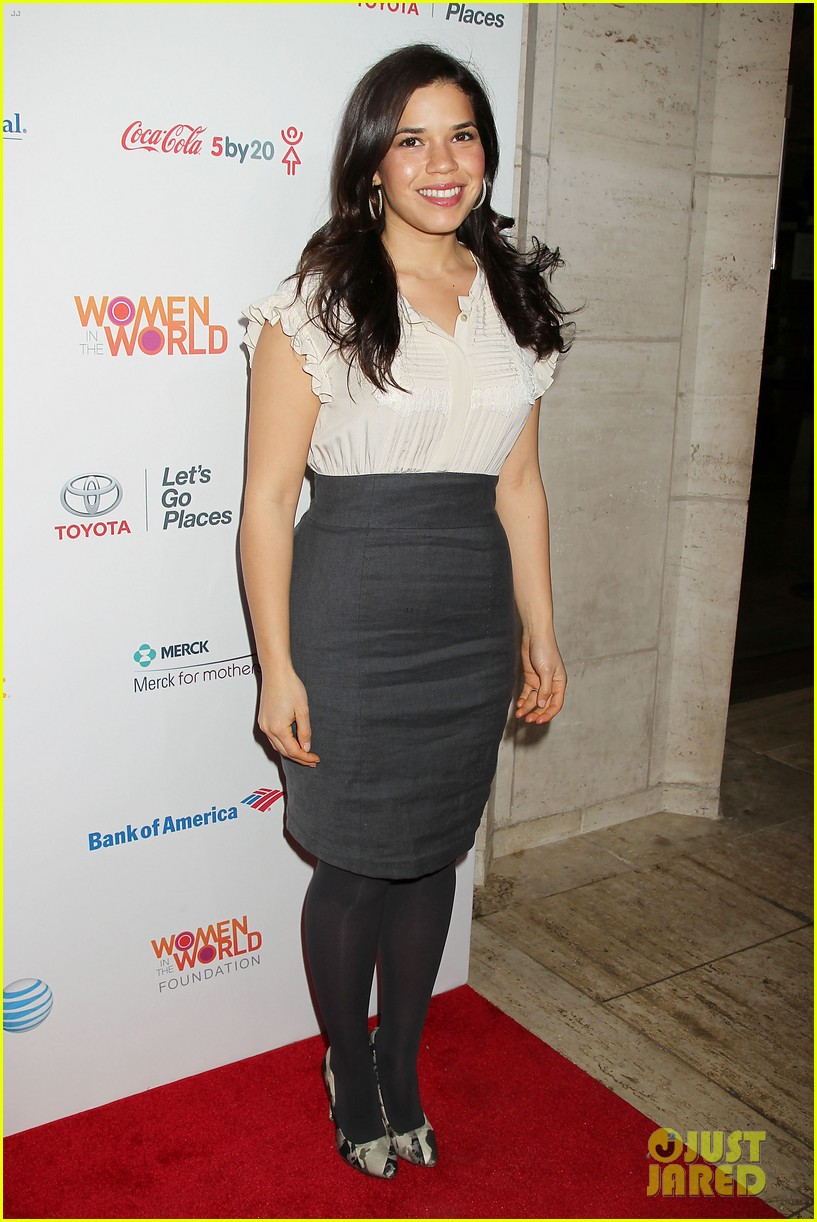 meryl streep america ferrera women in the world gala 10
