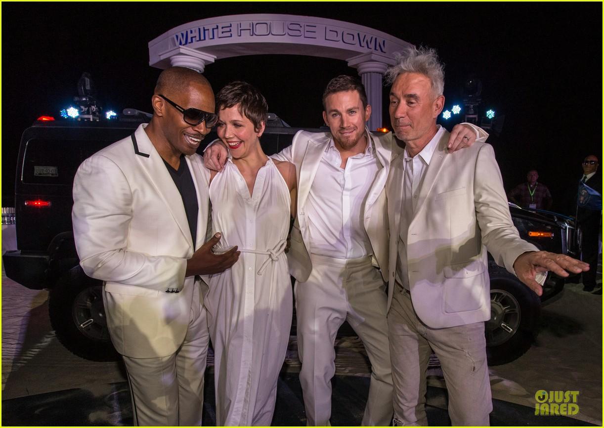 Channing Tatum & Jamie Foxx: 'White House Down' Mexico Photo Call ...