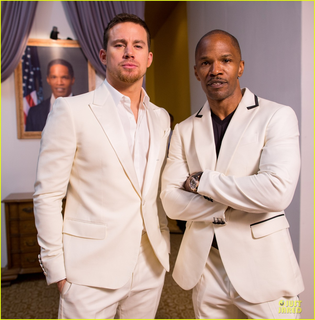 channing tatum jame foxx white house down mexico photo call 20