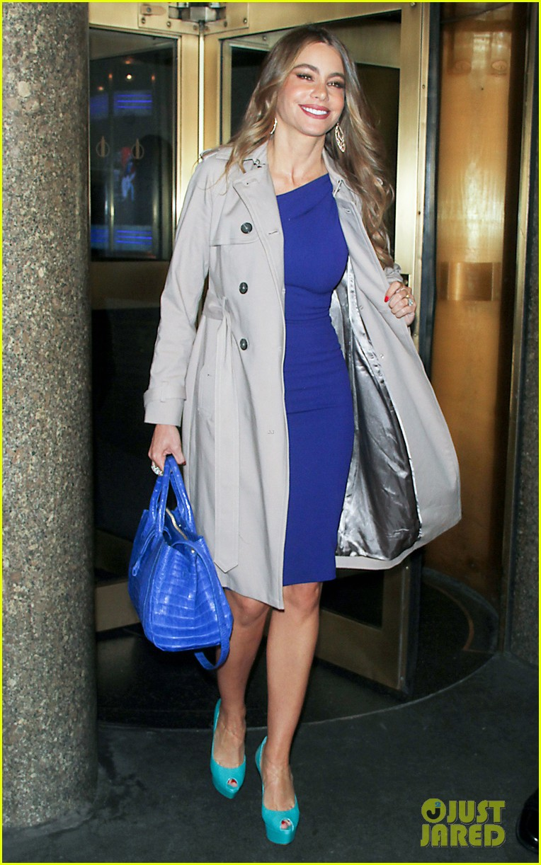 sofia vergara new york city promo appearances 092852684