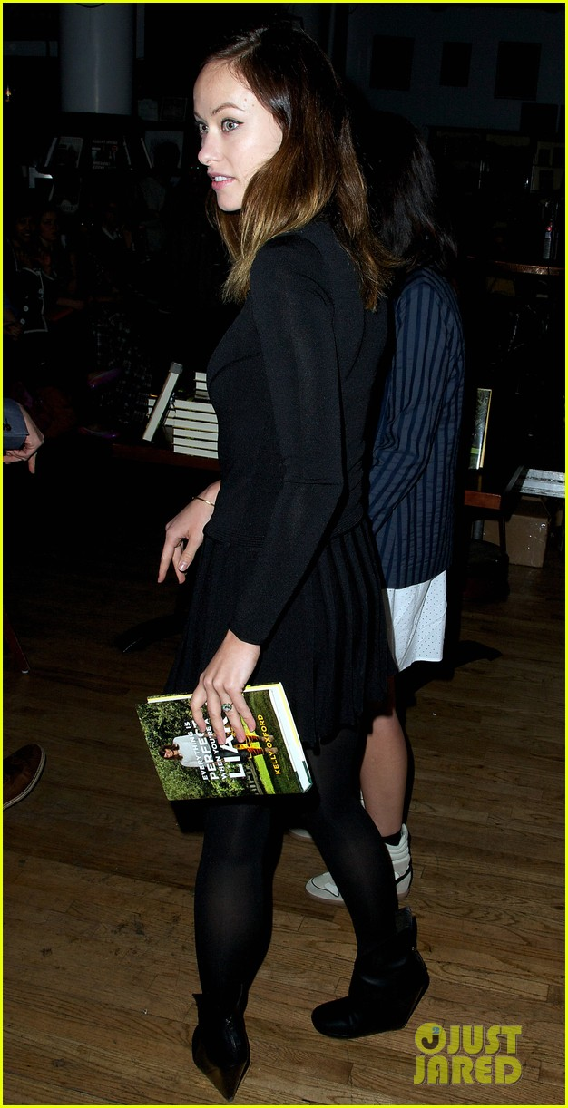 olivia wilde jason sudeikis everything is perfect book launch 06