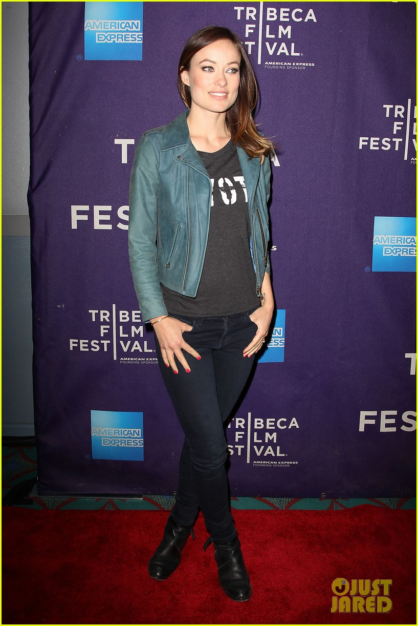 olivia wilde rider and the storm screening at tribeca 24