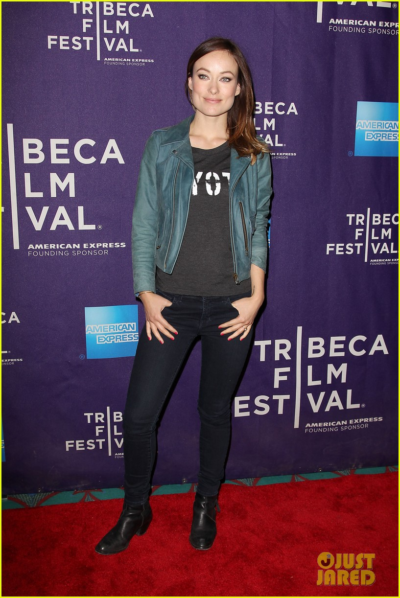 olivia wilde rider and the storm screening at tribeca 282855864