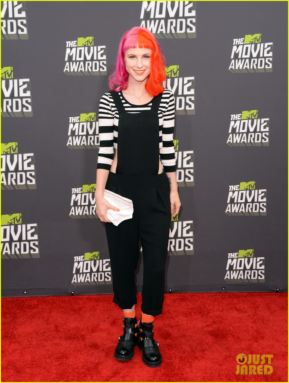 Hayley Williams & Paramore - MTV Movie Awards 2013: Photo
