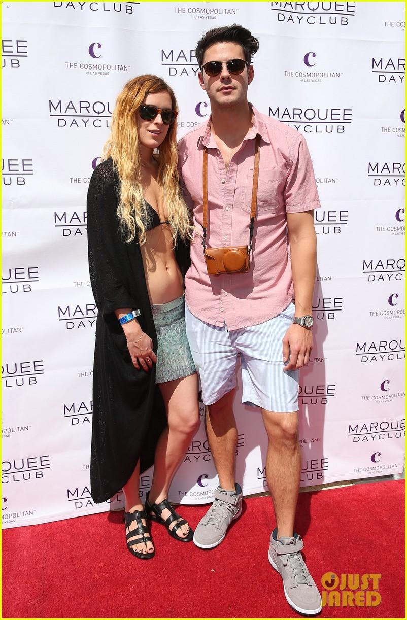 rumer willis bikini babe at marquee with jayson blair 15