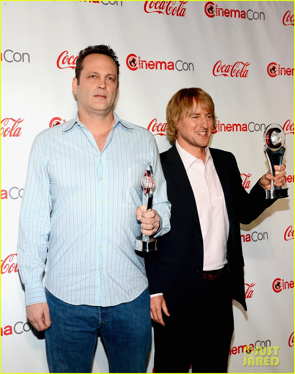 owen wilson vince vaughn cinemacon award winners 062853237