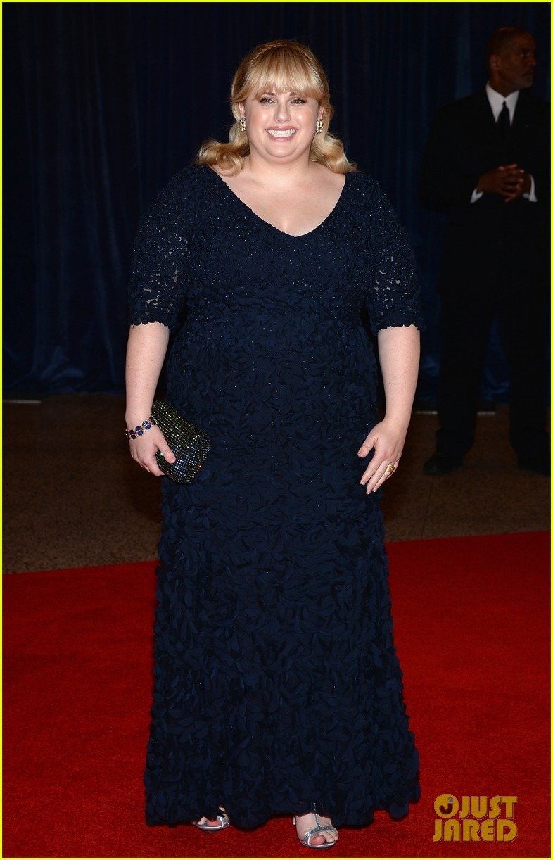 rebel wilson white house correspondents dinner 2013 092859595