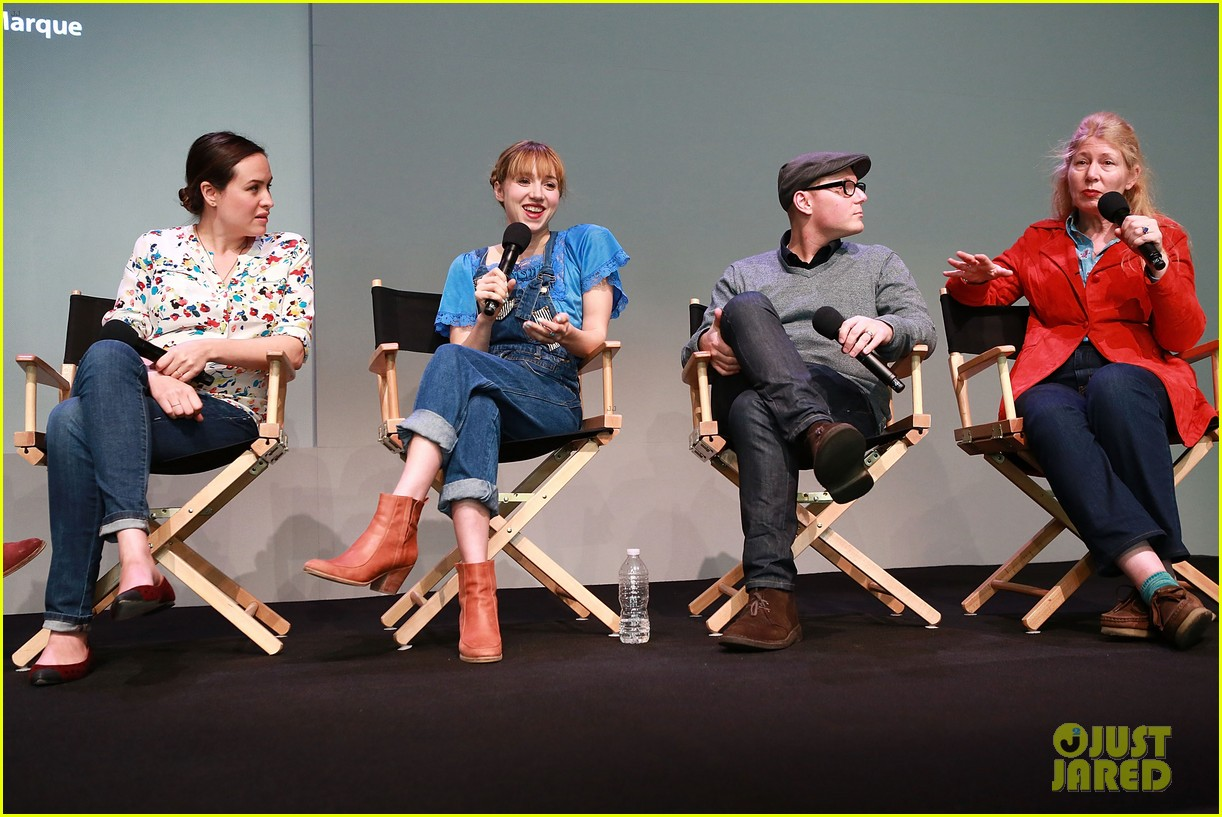 zoe kazan sterling beaumon the pretty one premiere 072854772