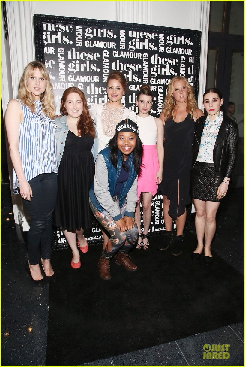 dianna agron emma roberts these girls presentation 032875205