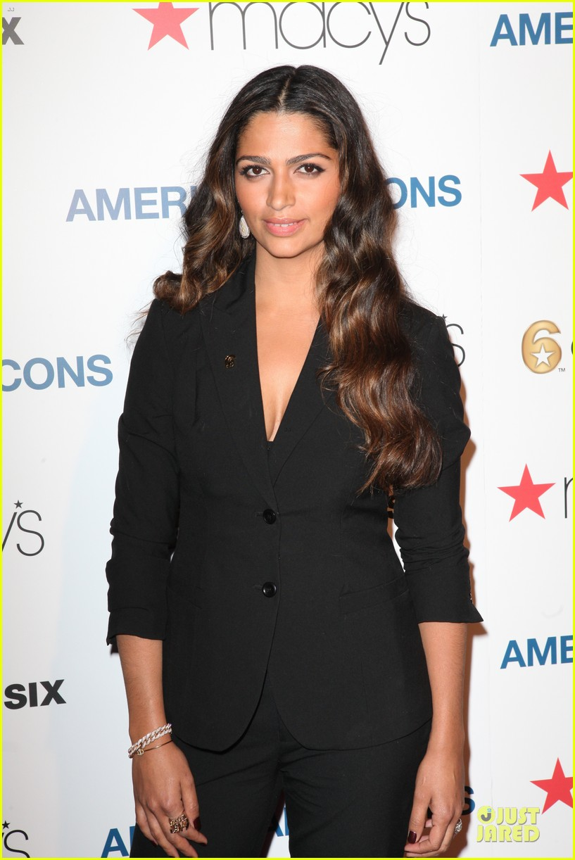 camila alves macys american icons campaign launch 04