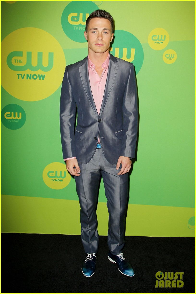 stephen amell colton haynes arrow cw upfront presentation 052871778