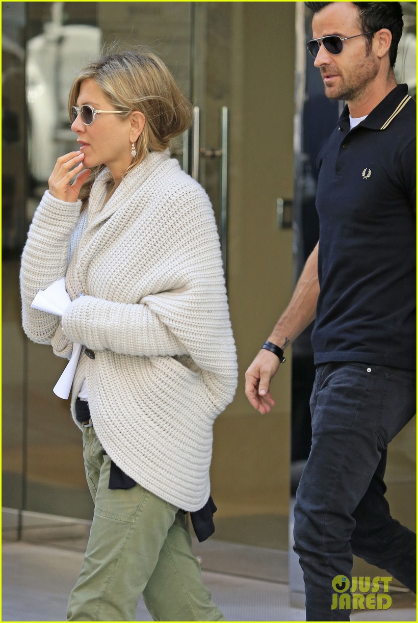 jennifer aniston justin theroux upper east side shopping 022869577
