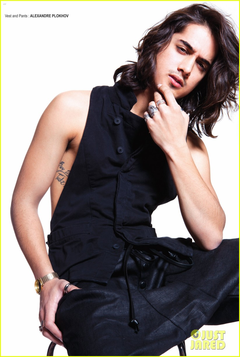 avan jogia covers glow magazine may 2013 052878471