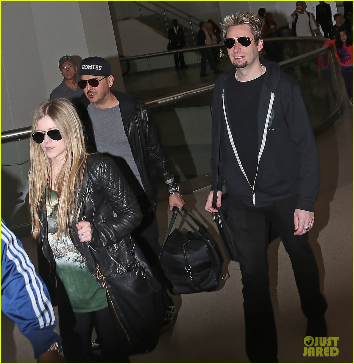 avril lavigne chad kroeger bound for billboard music awards 032873626