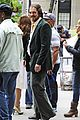 christian bale amy adams dance hold hands on set 09