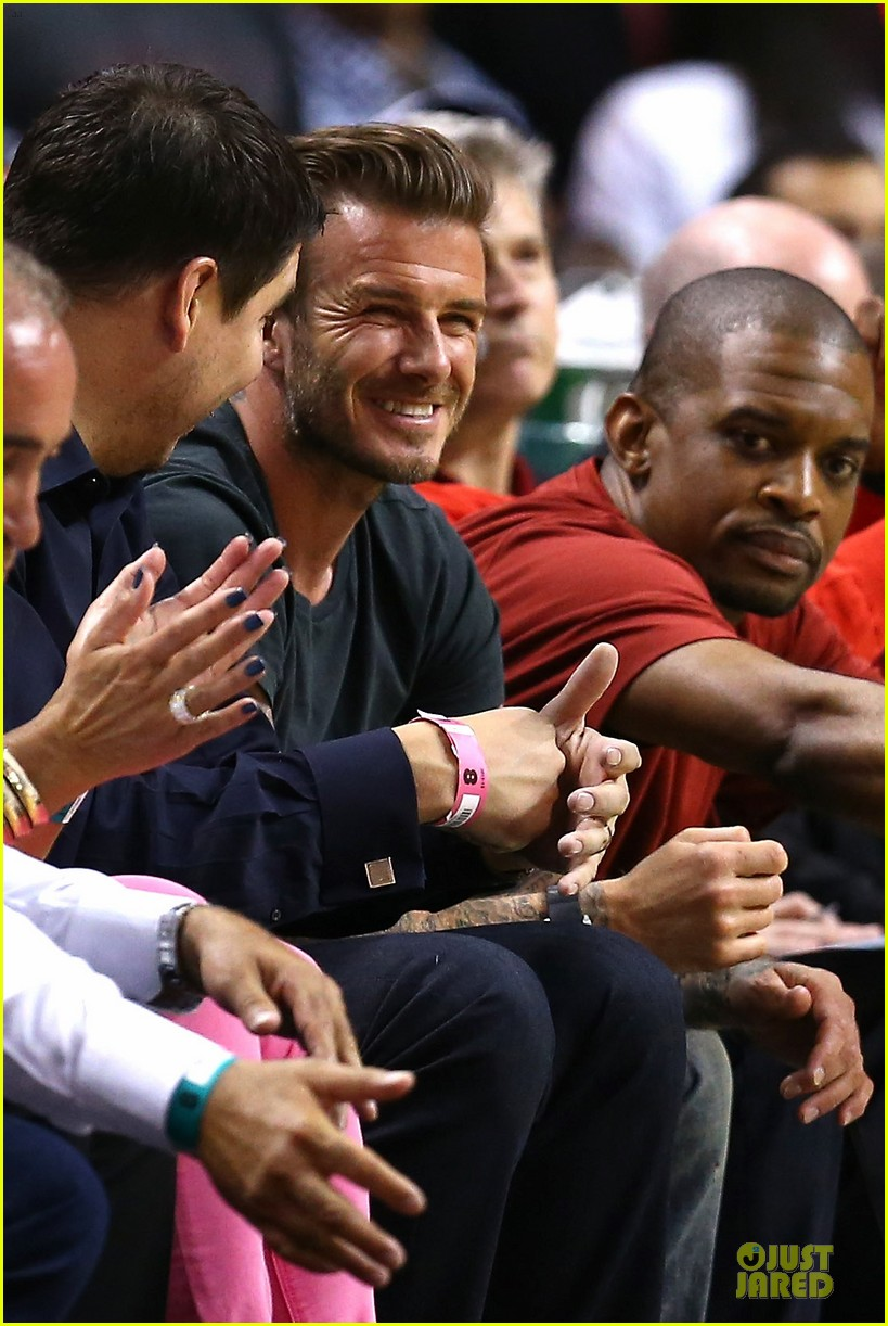 david beckham miami heat conference final playoff game 02