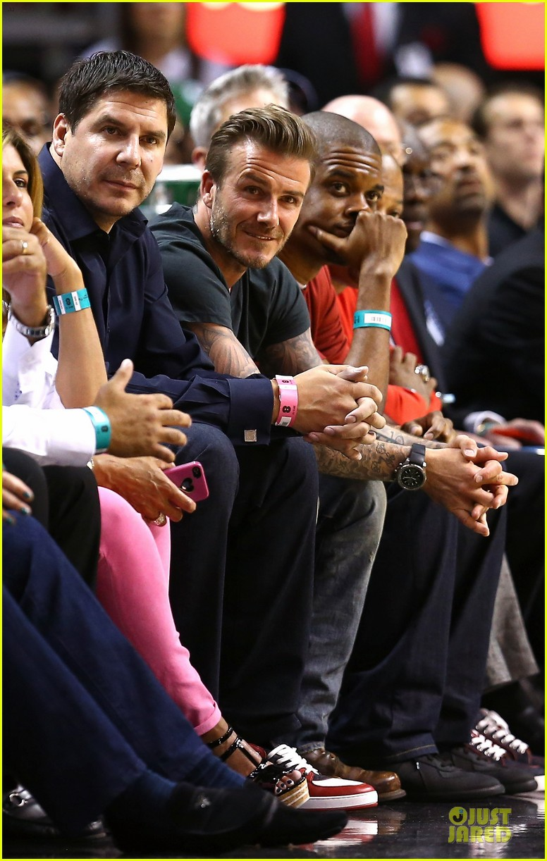 david beckham miami heat conference final playoff game 052881580
