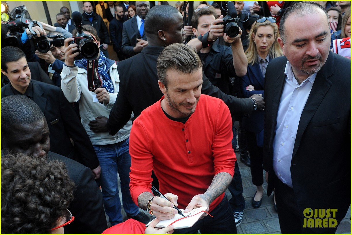 david beckham hm bodywear collection launch 03