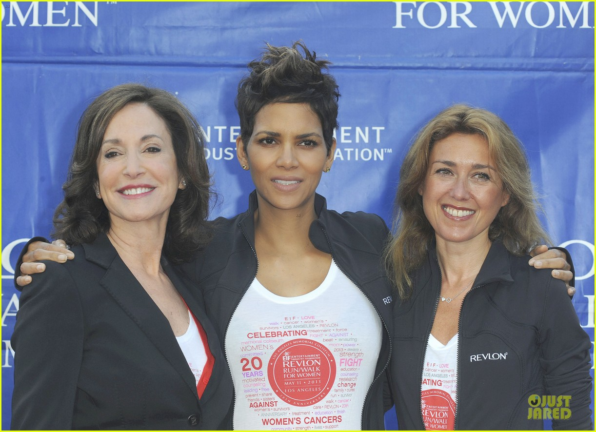 halle berry revlon run for women in la 04
