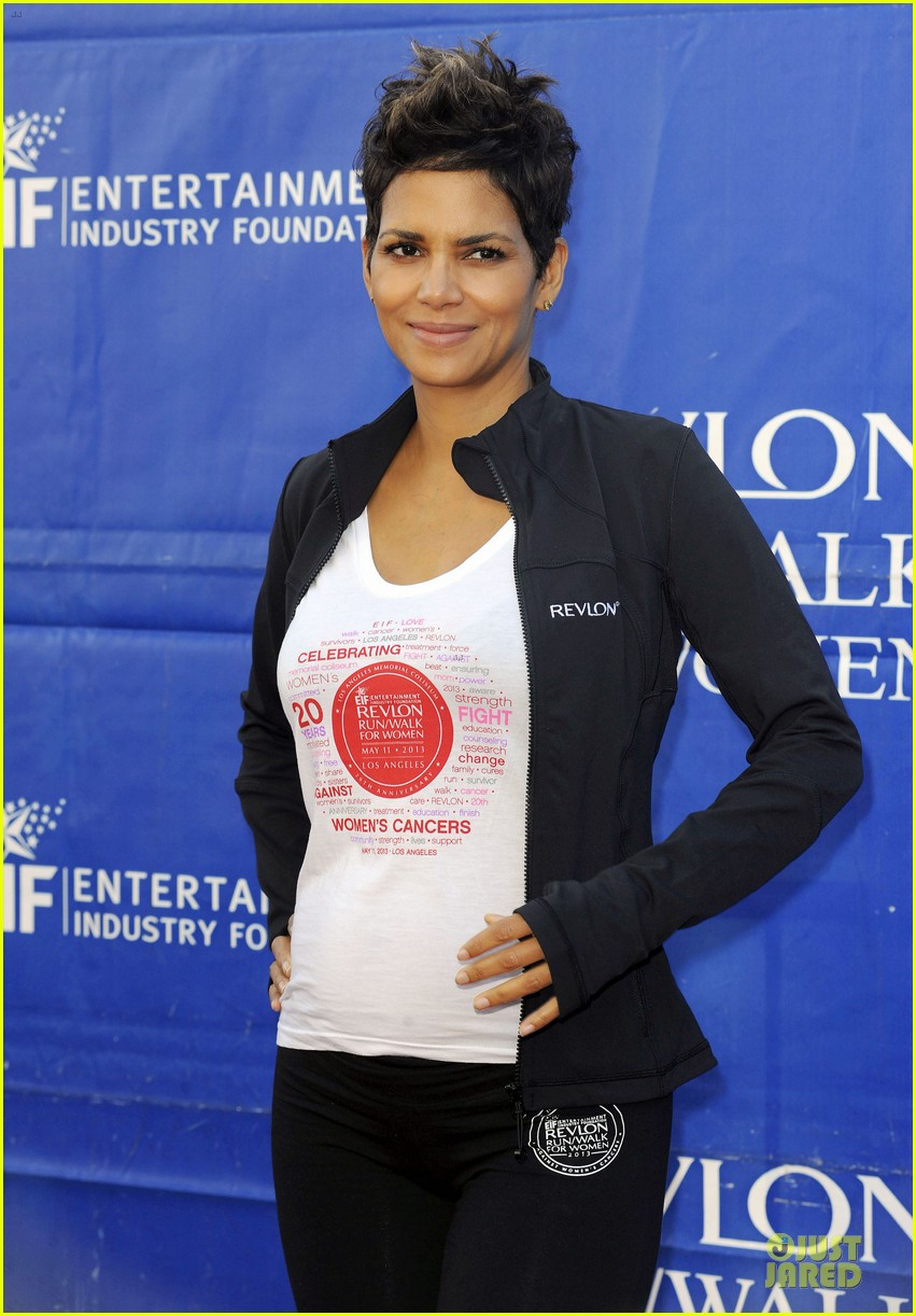 halle berry revlon run for women in la 10