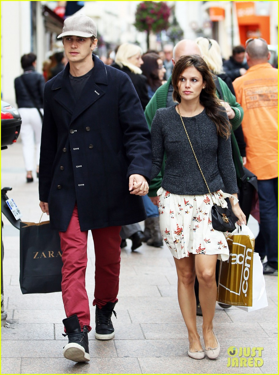 rachel bilson hayden christensen hold hands at cannes 13
