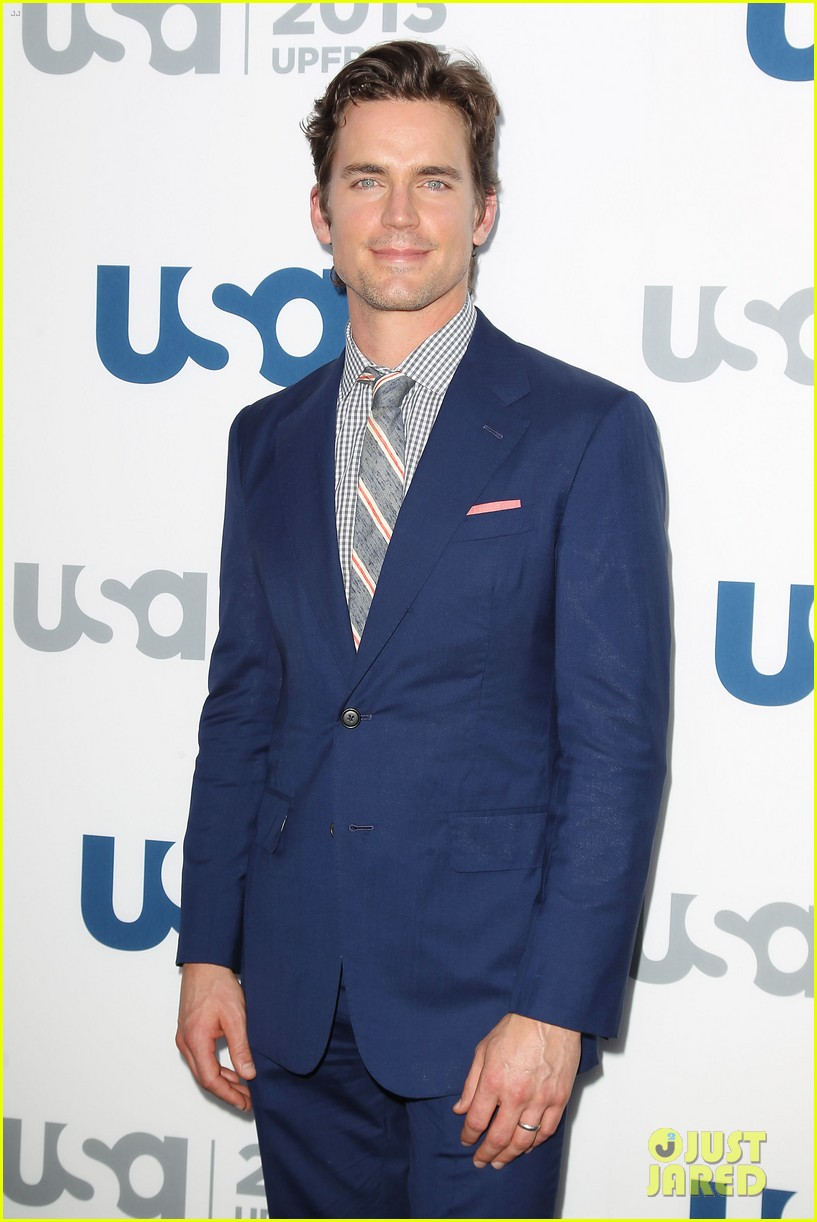 matt bomer aaron tveit usa upfront 2013 red carpet 202872115