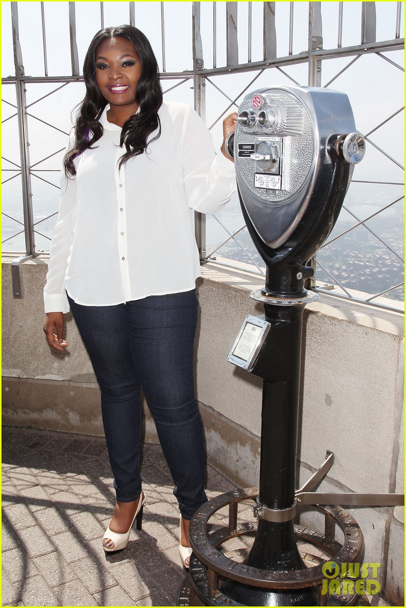 american idol winner candice glover visits empire state building exclusive quotes 302875618