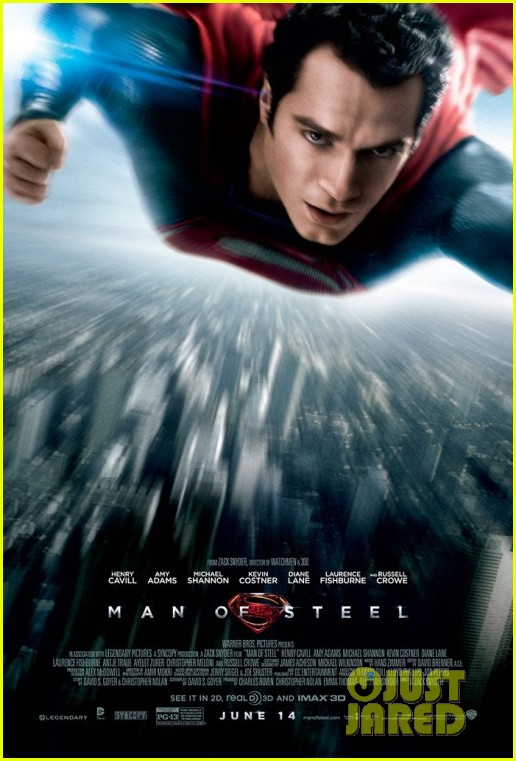 henry cavill man of steel poster 01