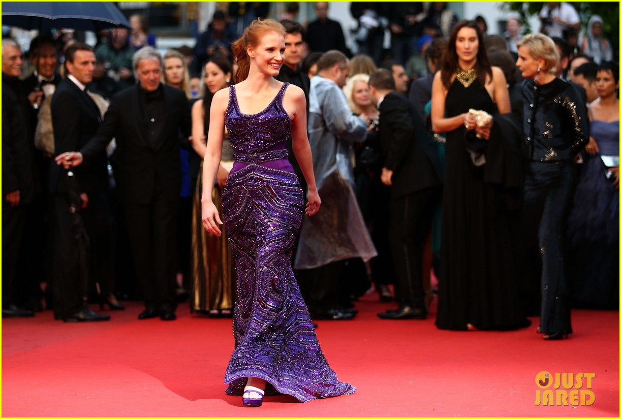 jessica chastain zachary quinto all is lost cannes premiere 132876263