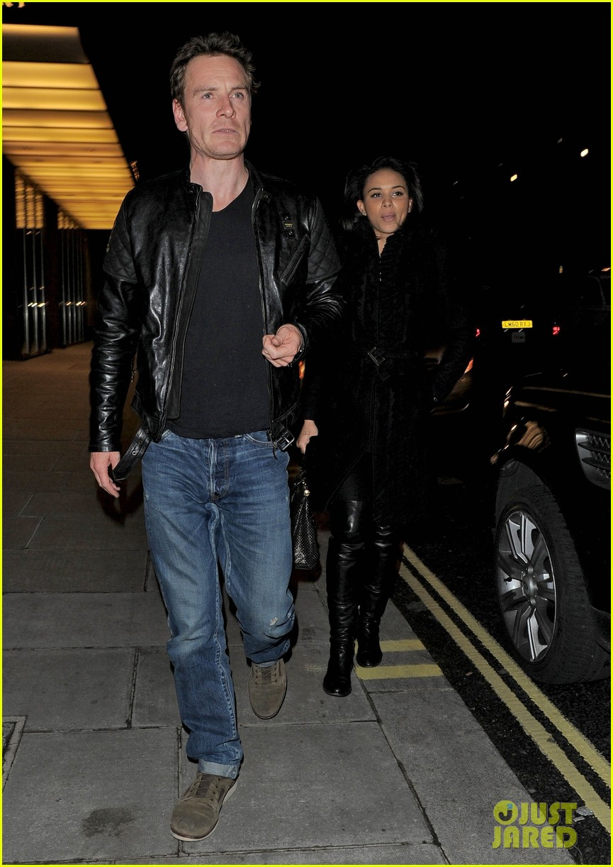 bradley cooper michael fassbender dinner in london 12