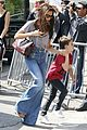 david victoria beckham eiffel tower lunch with the kids 17