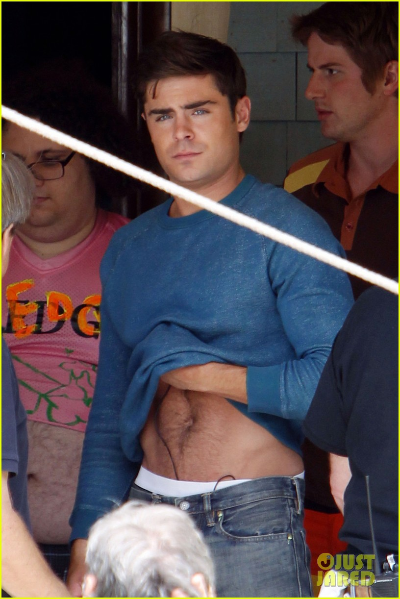 zac efron plays with big balls on townies set 04