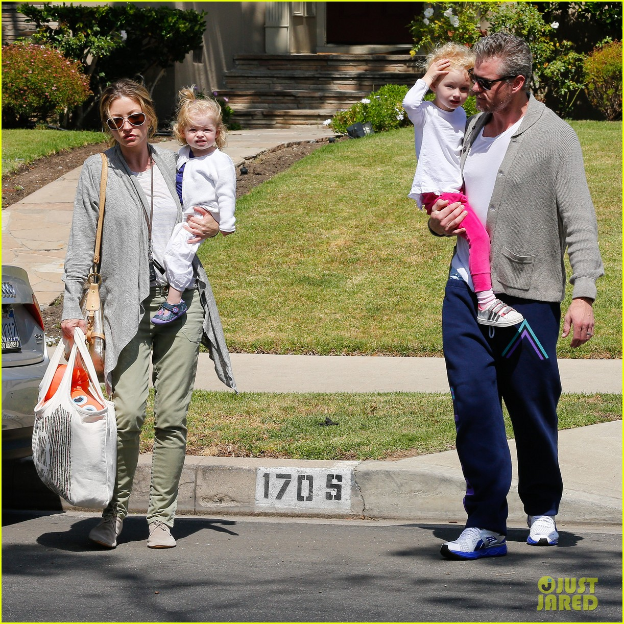eric dane rebecca gayheart birthday party with the girls 18