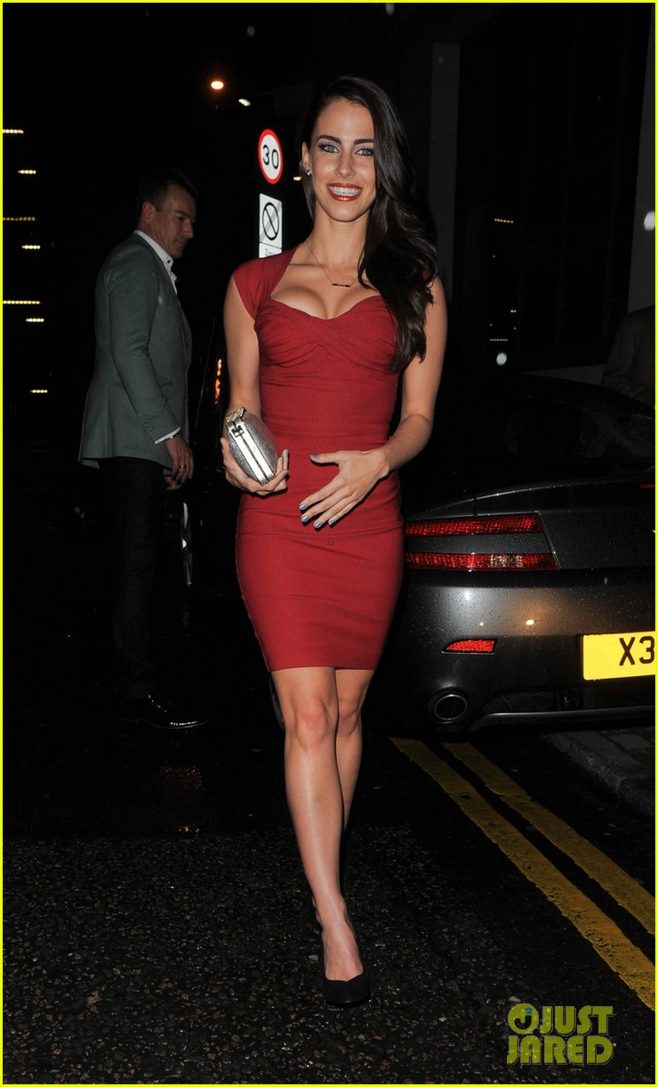 thom evans jessica lowndes aston martin launch party 09
