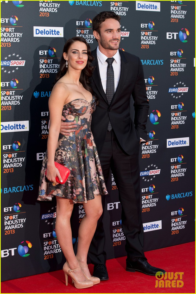 thom evans jessica lowndes bt sports industry awards 052862798