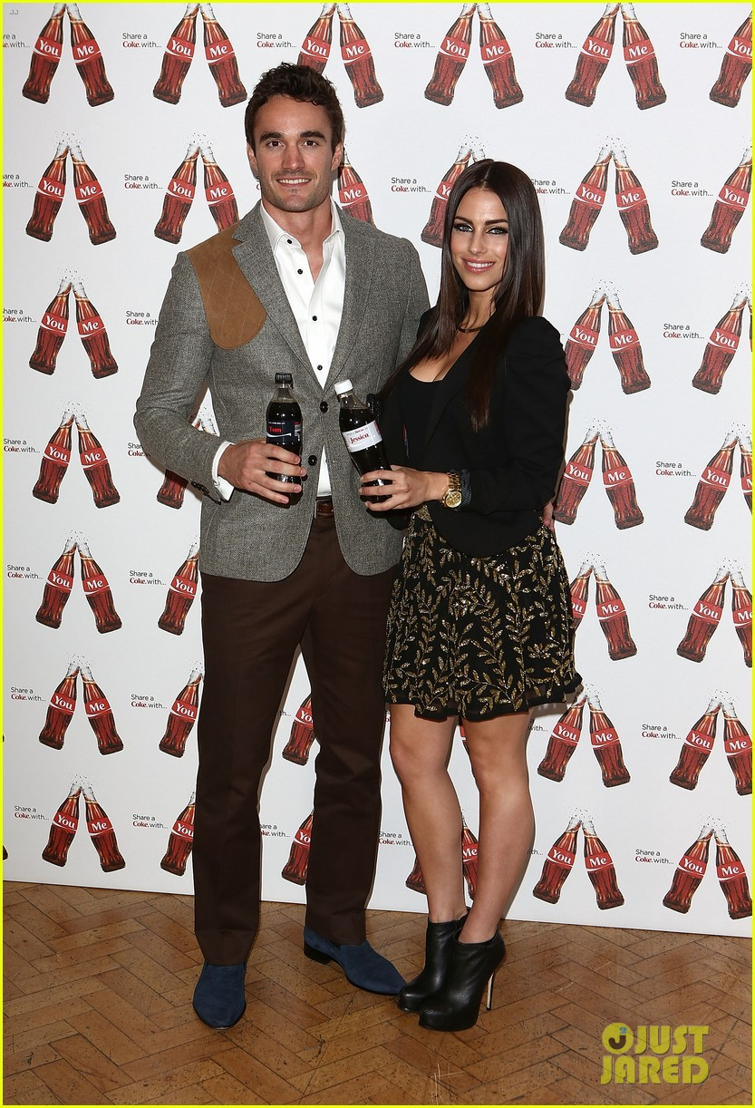 thom evans jessica lowndes personalized coke bottles 012867611