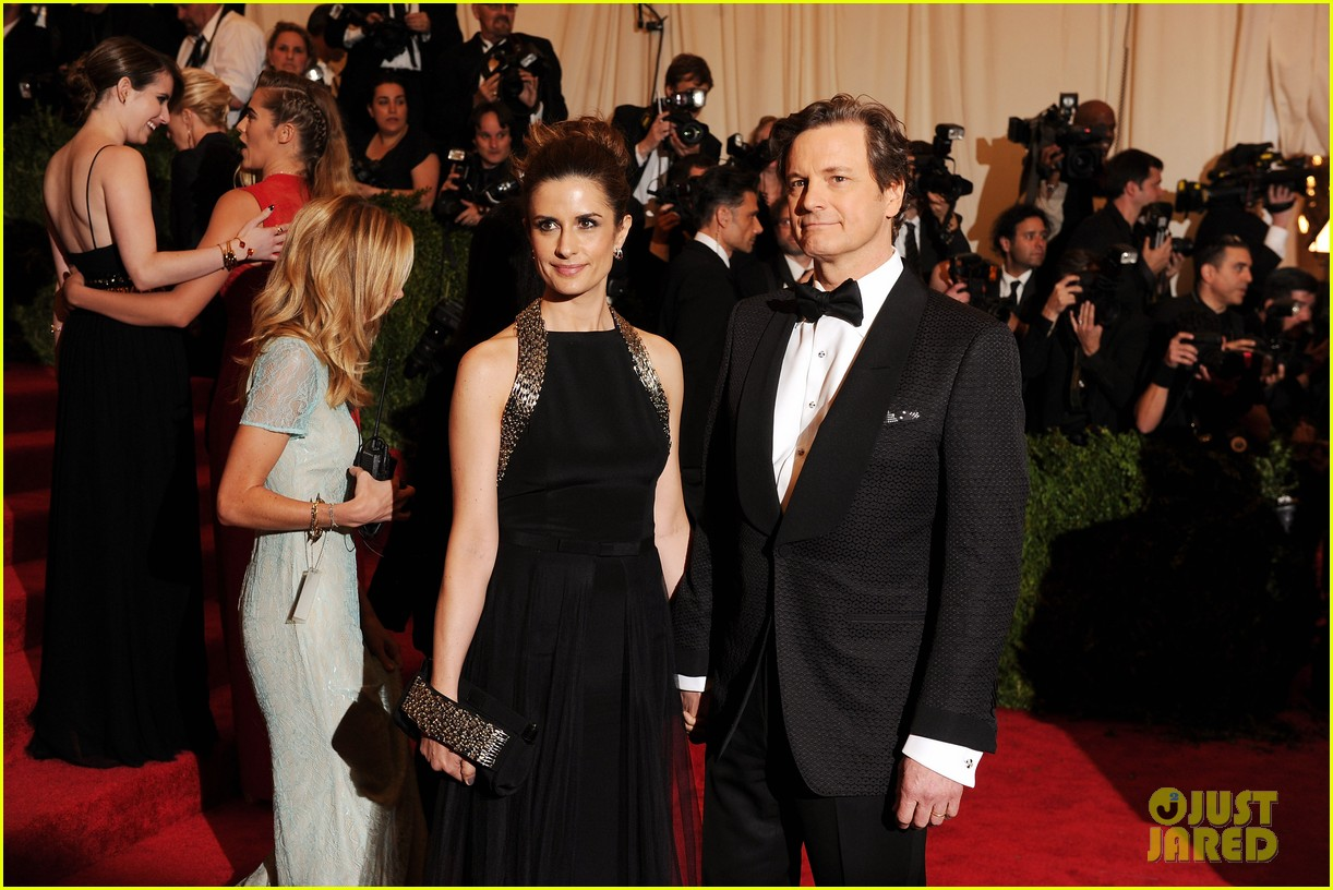 colin firth met ball 2013 red carpet 032865929