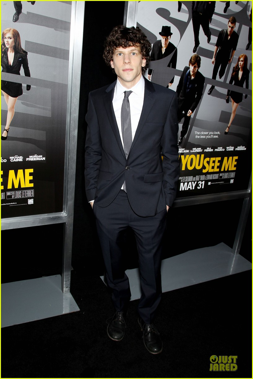 isla fisher jesse eisenberg now you see me premiere 09