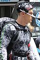 megan fox alan ritchson hold hands on ninja turtles set 02
