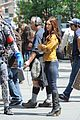 megan fox alan ritchson hold hands on ninja turtles set 16
