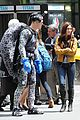 megan fox alan ritchson hold hands on ninja turtles set 19