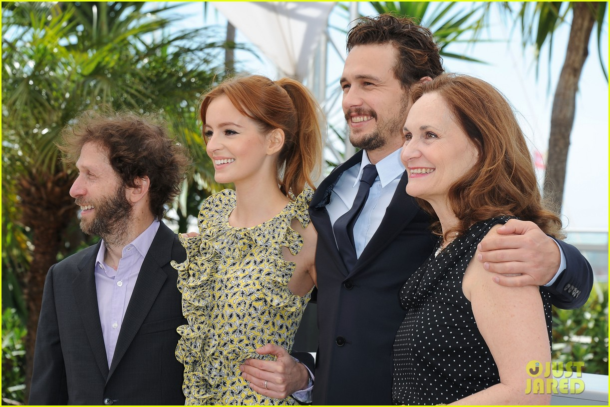 james franco ahna oreilly as i lay dying cannes photo call 12