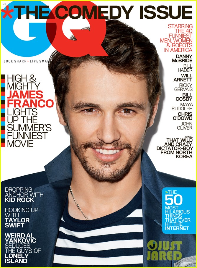 james franco covers gq magazines comedy issue june 2013 02