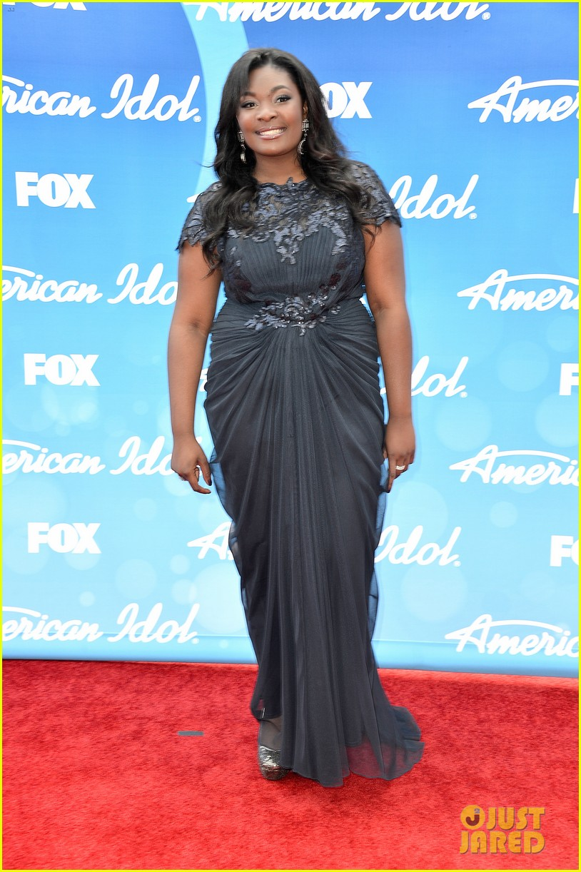 candice glover kree harrison american idol finale red carpet 032871940
